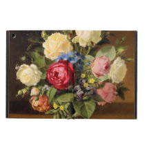 "Antique Print ""Victorian Roses"" iPad Hard Cover Cover For iPad Air"