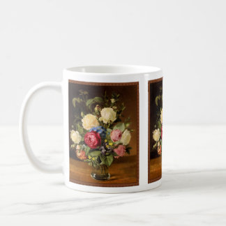 "Antique Print ""Victorian Roses"" Mug"