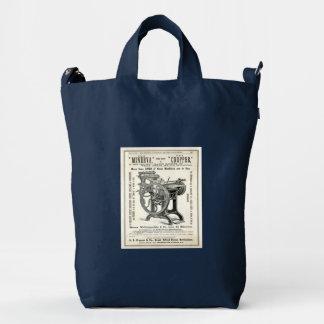 Antique Printing Press Bag