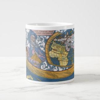 Antique Ptolemaic World Map; Claudius Ptolemy Extra Large Mug