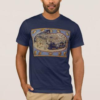 Antique Ptolemaic World Map, Johannes of Arnsheim T-Shirt