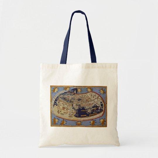 Antique Ptolemaic World Map, Johannes of Arnsheim Tote Bag