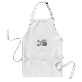 Antique Pulling Tractor Adult Apron