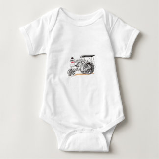 Antique Pulling Tractor Baby Bodysuit