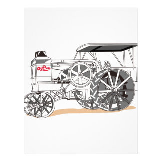 Antique Pulling Tractor Letterhead