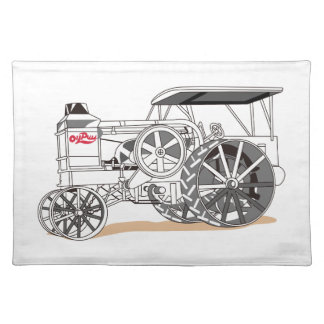 Antique Pulling Tractor Placemat