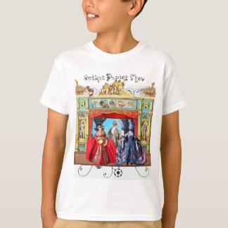 ANTIQUE PUPPET SHOW, PUPPETS IN MASQUERADE T-Shirt