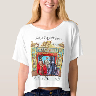 ANTIQUE PUPPET THEATRE, PUPPETS IN MASQUERADE T-SHIRT