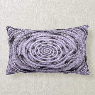 Antique Purple Glass Lumbar Pillow