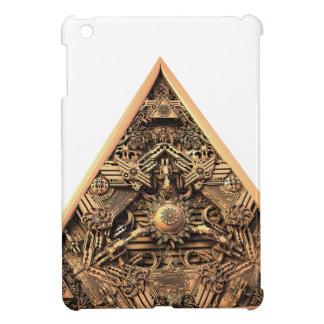 Antique Pyramid Fractal iPad Mini Covers