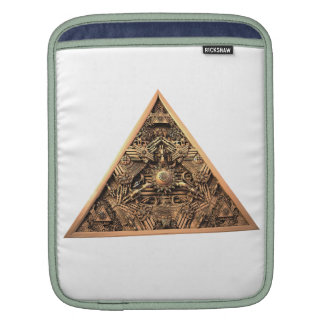 Antique Pyramid Fractal Sleeves For iPads