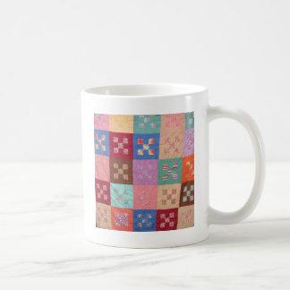 Antique Quilt Design Coffee Mug