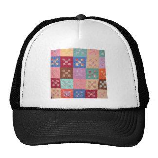 Antique Quilt Design Trucker Hat