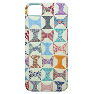 Antique Quilt iPhone SE/5/5s Case