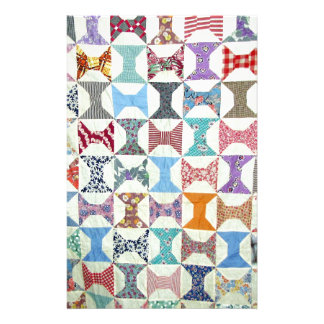 Antique Quilt Personalized Stationery