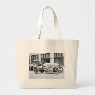 Antique Race Car 1910s Canvas Bags