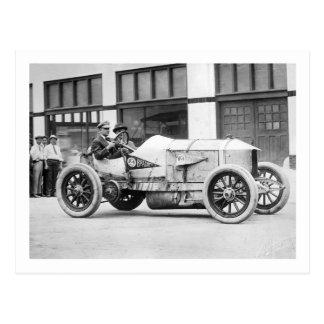Antique Race Car 1910s Postcards