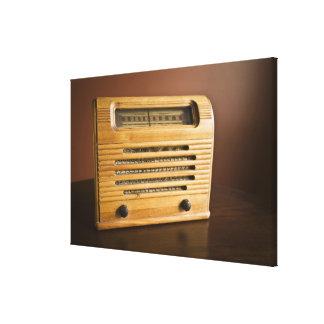 Antique Radio Canvas Print