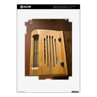 Antique Radio Decals For iPad 3