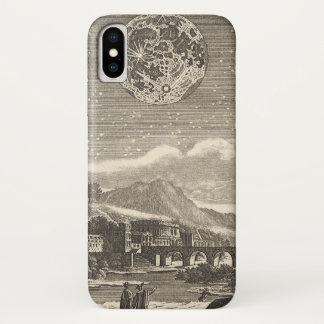 Antique Renaissance Moon by Allain Mallet iPhone X Case
