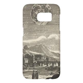 Antique Renaissance Moon by Allain Mallet Samsung Galaxy S7 Case