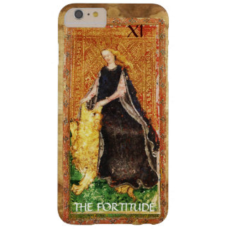 ANTIQUE RENAISSANCE TAROTS 11 / THE FORTITUDE BARELY THERE iPhone 6 PLUS CASE