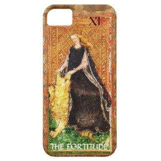 ANTIQUE RENAISSANCE TAROTS 11 / THE FORTITUDE iPhone SE/5/5s CASE