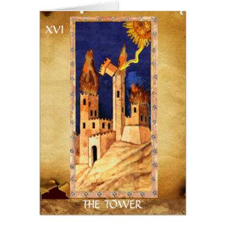 ANTIQUE RENAISSANCE TAROTS 16 THE TOWER CARDS