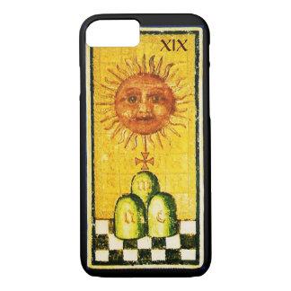 ANTIQUE RENAISSANCE TAROTS 19 / THE SUN iPhone 8/7 CASE