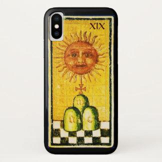 ANTIQUE RENAISSANCE TAROTS 19 / THE SUN iPhone X CASE