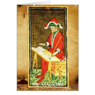 ANTIQUE RENAISSANCE TAROTS 1 / THE MAGICIAN CARD