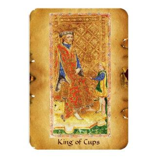 ANTIQUE RENAISSANCE TAROTS  / KING OF CUPS CARD