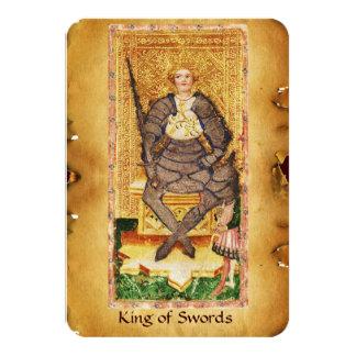 ANTIQUE RENAISSANCE TAROTS  / KING OF SWORDS CARD