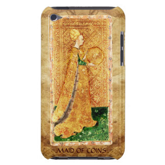ANTIQUE RENAISSANCE TAROTS  / MAID OF COINS BARELY THERE iPod COVERS
