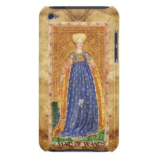 ANTIQUE RENAISSANCE TAROTS  / MAID OF WANDS BARELY THERE iPod CASE