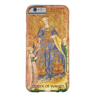 ANTIQUE RENAISSANCE TAROTS  / QUEEN OF WANDS BARELY THERE iPhone 6 CASE