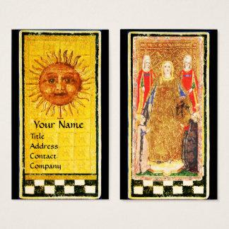 ANTIQUE RENAISSANCE TAROTS/ SUN AND THE EMPRESS BUSINESS CARD