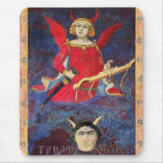 ANTIQUE RENAISSANCE TAROTS /THE DEVIL Pride Detail Mouse Pad