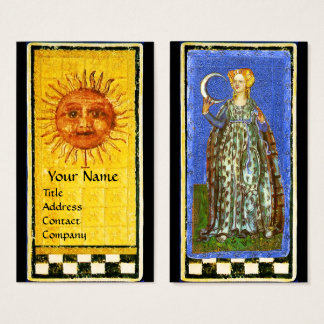 ANTIQUE RENAISSANCE TAROTS / THE SUN AND THE MOON BUSINESS CARD