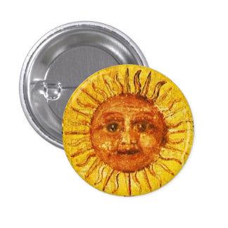 ANTIQUE RENAISSANCE TAROTS / THE SUN BUTTON