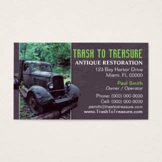 Antique Restoration Business Card