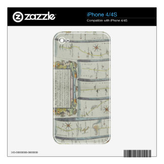 Antique Road Map Skins For The iPhone 4S
