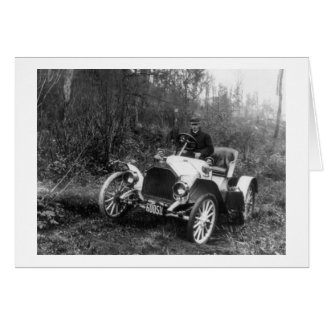 Antique Roadster, 1911 Greeting Card