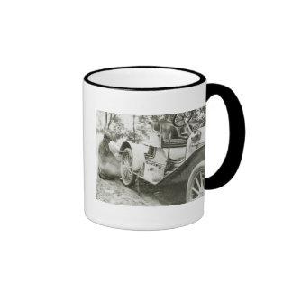 Antique Roadster, 1911 Ringer Coffee Mug