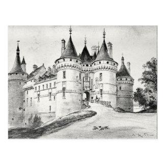 Antique Robida France French Castle Postcard