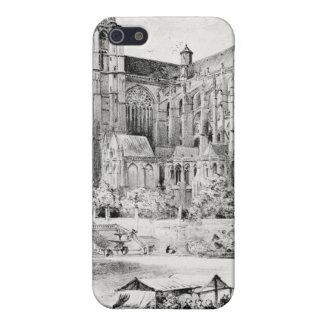 Antique Robida France French Landscape Case For iPhone SE/5/5s