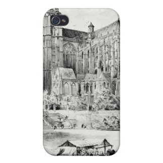 Antique Robida France French Landscape Cases For iPhone 4