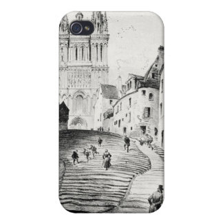 Antique Robida France French Landscape Covers For iPhone 4