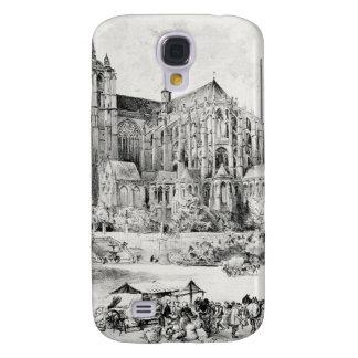 Antique Robida France French Landscape Galaxy S4 Case