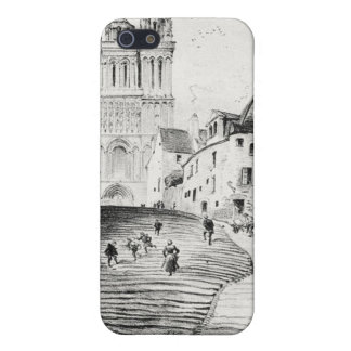 Antique Robida France French Landscape iPhone SE/5/5s Cover